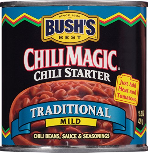 Bush's Best Chili Magic Traditional Chili Starter, 15.5 oz (12 cans) For Sale