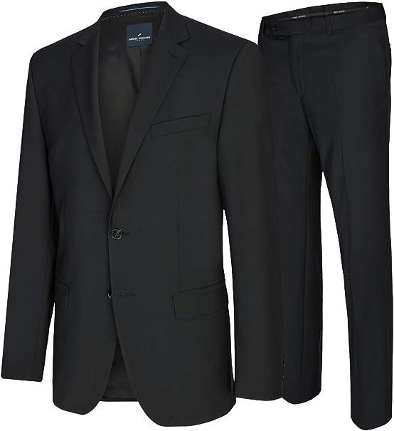 Daniel Hechter Modern Fit Herren Baukasten Anzug in Blau