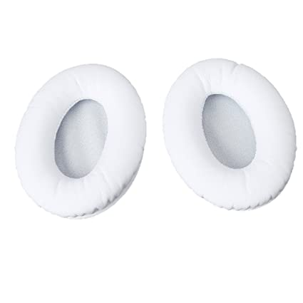 White Replacement Ear Pads Cushion for Monster Beats Studio Headphone