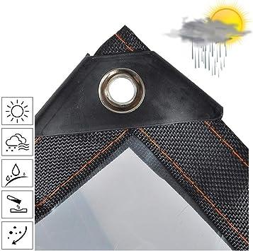 Lonas Impermeables Exterior para Piscinas Toldo Reforzado Lona Impermeable Ojetes Metálicos Transparente Jardín Exterior Protección contra La Lluvia Plegable Tela De Plástico Duradero (Size : 6x8m): Amazon.es: Bricolaje y herramientas