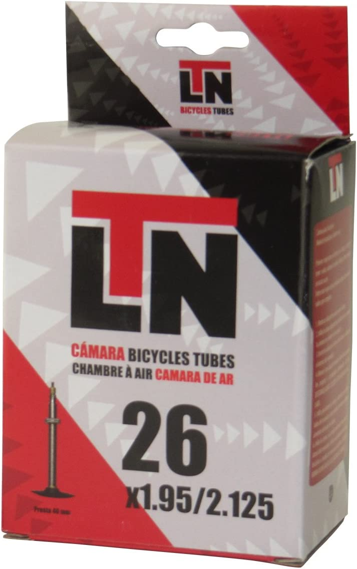 ELTIN Camara LTN 26X1.95/2.125 V. Presta Ciclismo, Negro, Talla ...