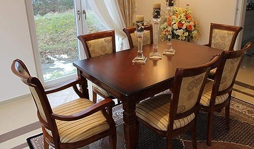Comedor Mesa de Comedor Muebles Mesa de Cocina de Madera Real ...