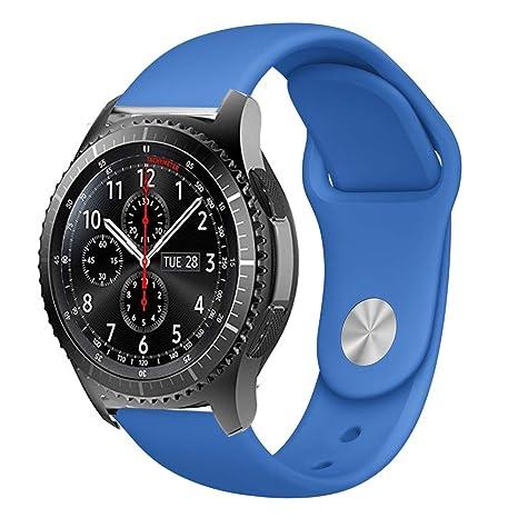 BarRan Vivoactive 3 correa, silicona deporte liberación rápida correa de reloj pulsera para Garmin Vivoactive