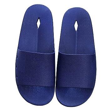 Zapatillas HUYP Casa Azules Fuera del Baño con Sandalias De Playa Sandalias Multiusos (Tamaño : 44): Amazon.es: Hogar