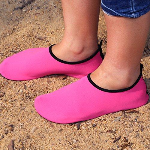 Unisexes Plonge Rose Chaussures Schage Natation Hommes Yoga La Natation Plonge Aquatiques L'eau En Qimaoo Chaussettes D'eau De Rapide Plage Sport Apne Pour wHRP1