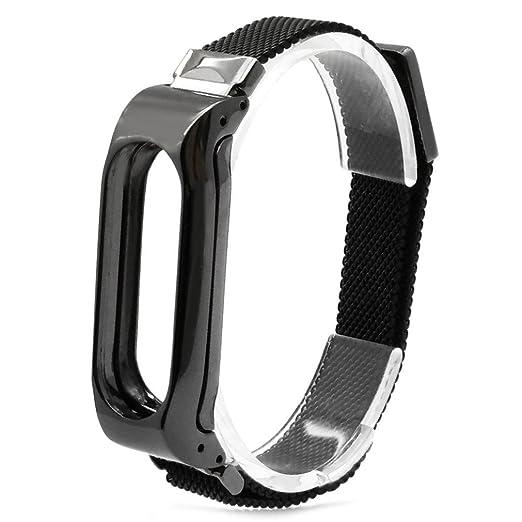 Nueva pulsera ligera de acero inoxidable de moda Correa de reloj inteligente Xinan Para Xiaomi MI