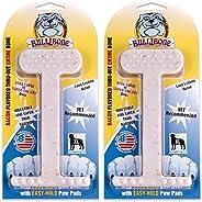 Bullibone Nylon Dog Chew Toy Nylon Bone - Improves Dental Hygiene, Easy to Grip Bottom, and Permeated with Fla