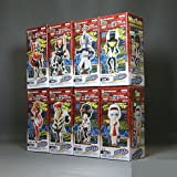 Tiger & Bunny World Collectible figure vol.4 all eight set Banpresto prize