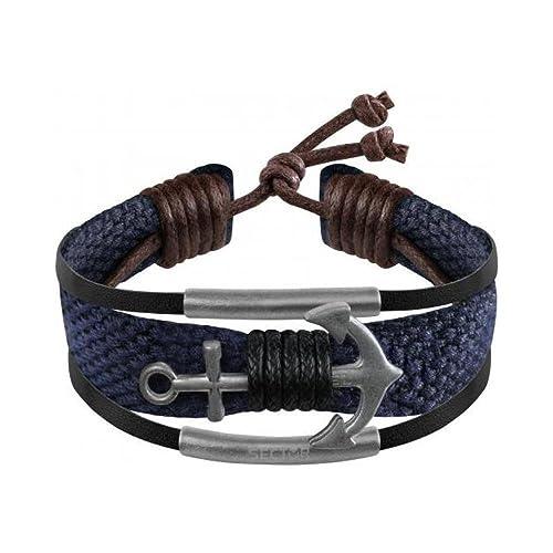 scarpe di separazione 548a3 ba518 SECTOR GIOIELLI Bracciali di corda Uomo acciaio_inossidabile - SALV04