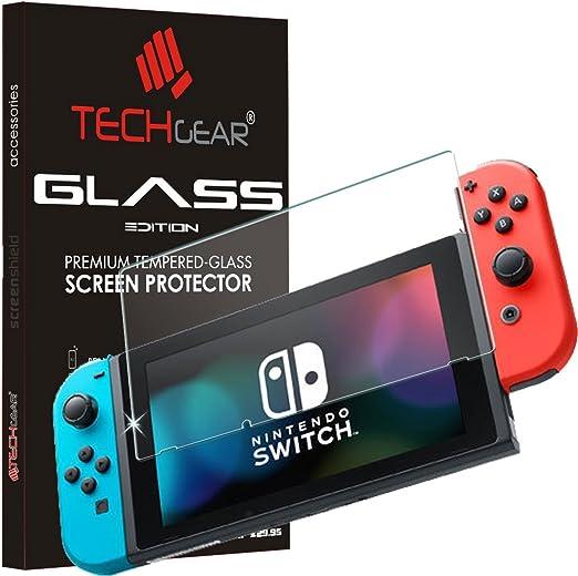 TECHGEAR Switch Vidrio - Protector de Pantalla de Cristal Templado ...