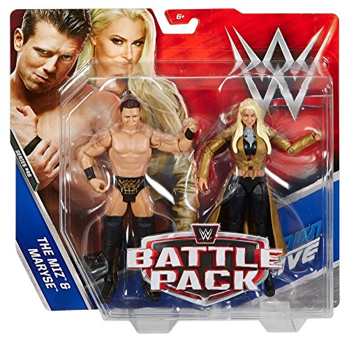 WWE The Miz & Maryse Action Figure (2 Pack)