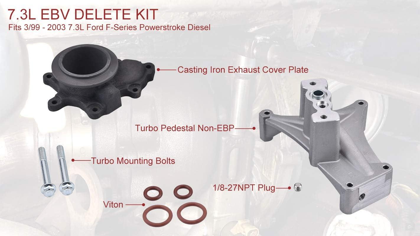 SPELAB 7.3 Turbo Pedestal Powerstroke /& Exhaust Housing for Ford F-series 1999.5-2003 Year Model