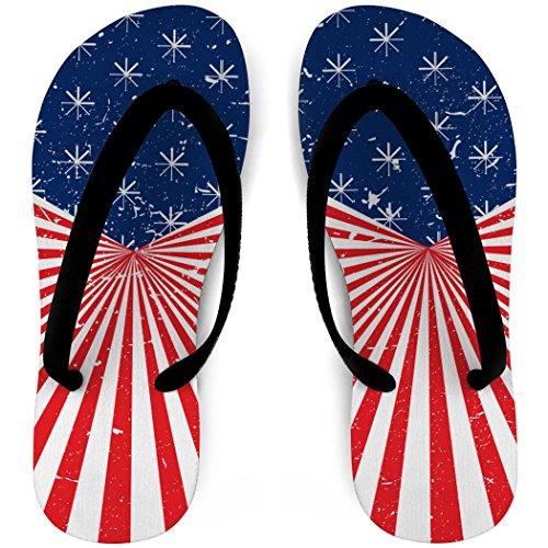 Softbol Flip Flops American Pride