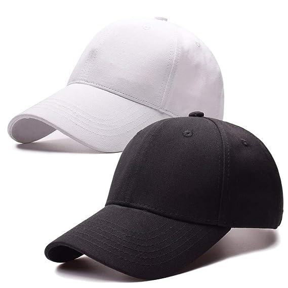 18841fe46d4 Ymombest Ponytail Baseball Cap Messy High Bun Adjustable Mesh Trucker Sun  Hat