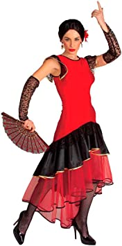 Disfraz de bailarina española Flamenco Disfraz de flamenco vestido ...