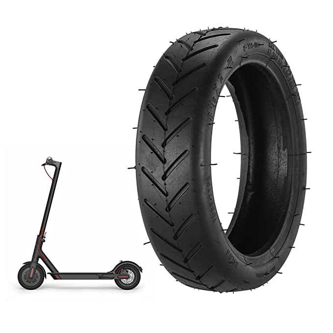 RUNACC 8,5 Scooter Eléctrico de Goma Durable de los neumáticos neumático y Tubo Interior de Repuesto neumático Antideslizante Exterior para Xiaomi ...
