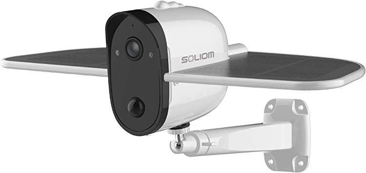 Soliom Bird S60 1080p Home Wirele Outdoor Solar Battery Powered Security Camera