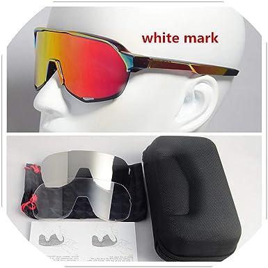 Fragrancety Peter Sagan - Gafas de sol polarizadas para ciclismo, deportes al aire libre, lentes fotocromáticas, lentes transparentes: Amazon.es: Ropa y accesorios