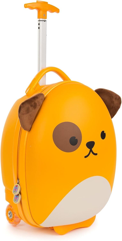 boppi Tiny Trekker Maleta Trolley Infantil Equipaje Cabina 2 Ruedas - 17 litros - Perro