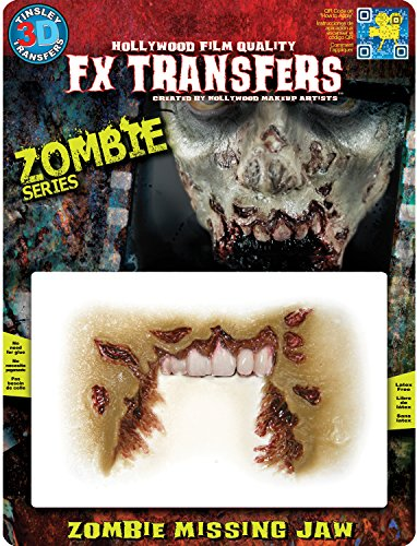Tinsley Transfers FX Transfers Zombie Missing Jaw Makeup]()
