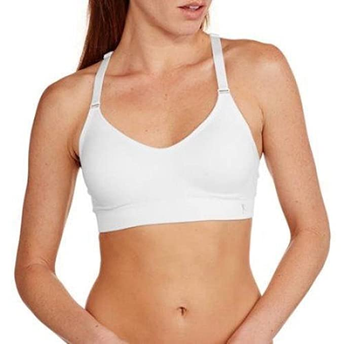 2952e7146b1ab Image Unavailable. Image not available for. Color  Danskin Now Seamless  Athletic Padded Sports Bra ...