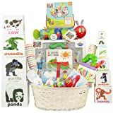 Hungry Caterpillar Deluxe Baby Gift Basket