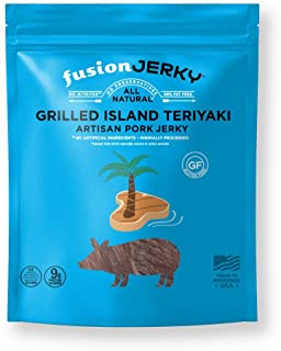 product image for Fusion Jerky Grilled Island Teriyaki Pork Jerky(14 oz) – Gluten Free. No Nitrates. No Added MSG. No Preservatives.