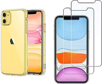 BX Case Funda iPhone 11 Silicona [ Transparente: Amazon.es: Electrónica