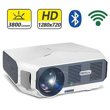 Inson Video proyector Proyector de películas caseras Proyector LED ...