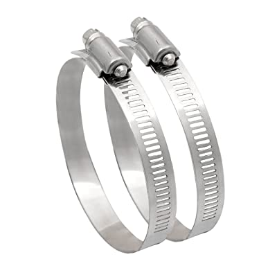 "Spectre Performance 9704 4"" Hose Clamps - Pair: Automotive"