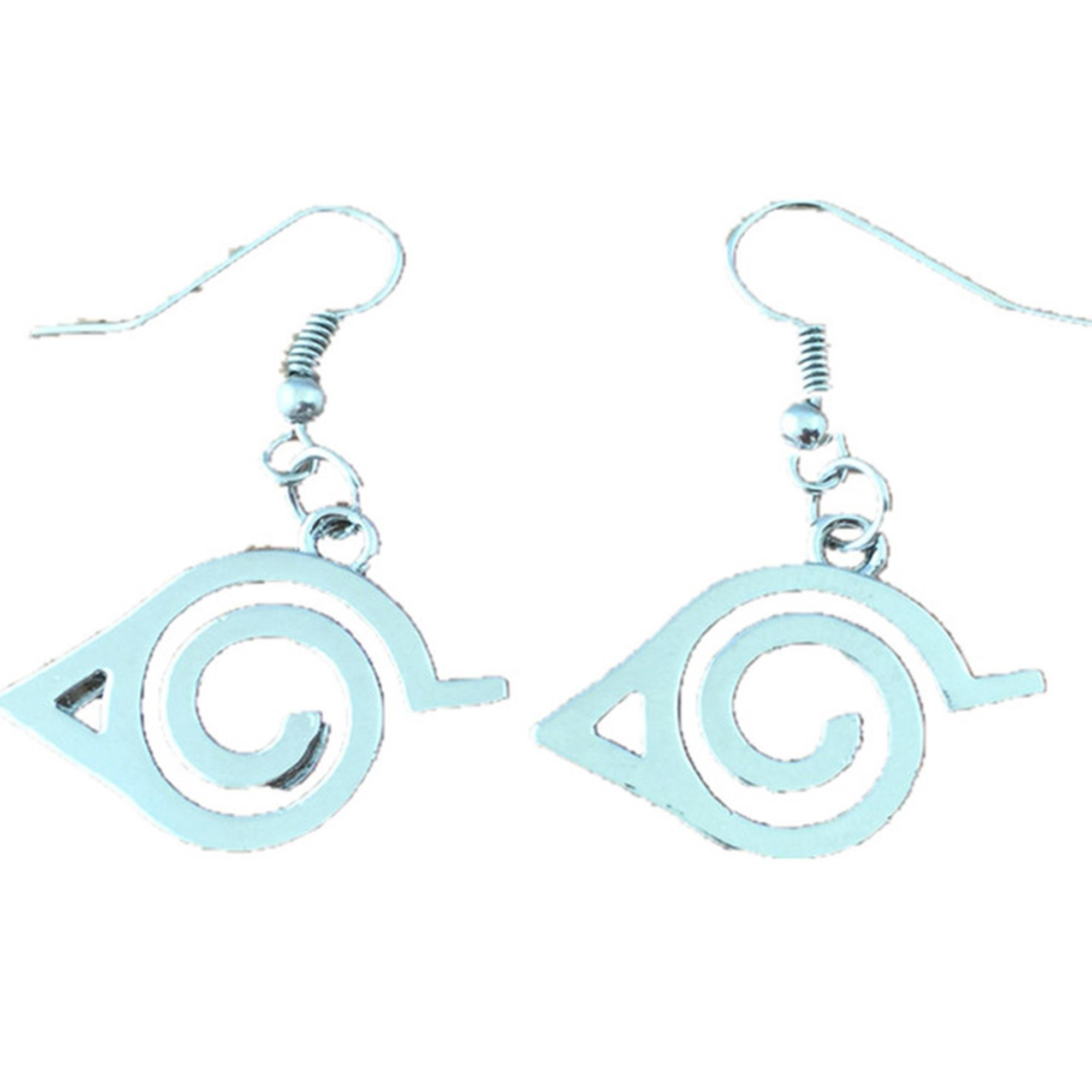 Outlander Naruto Logo Earring Dangles In Gift Box