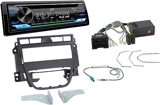 Autoradio Einbauset Geeignet Für Opel Meriva Inkl Jvc Elektronik