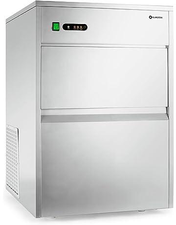Klarstein Powericer XXXL Máquina industrial para hacer hielo • Fabricadora de cubitos de hielo • 50