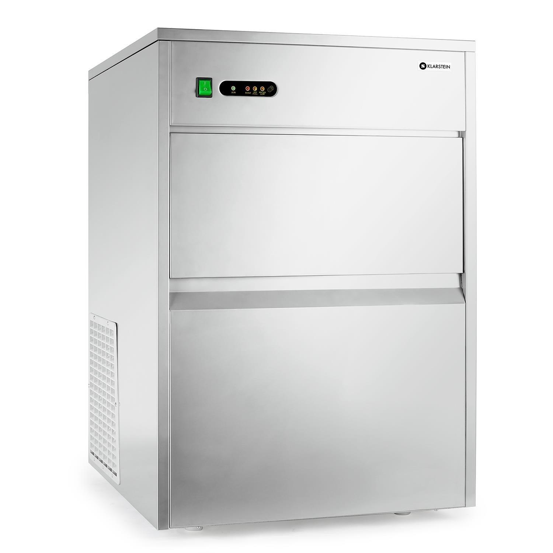 Máquina de cubitos de hielo industrial Klarstein Silber - 50 Kg ...