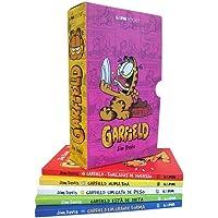Caixa especial Garfield - 5 volumes
