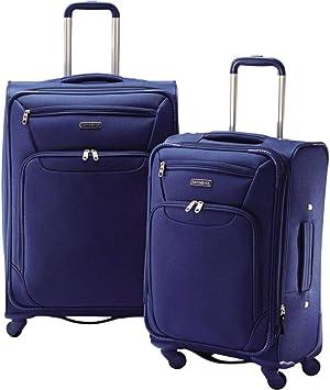 Samsonite 2 Piece Expandable Spinner Luggage Set (Royal Blue)