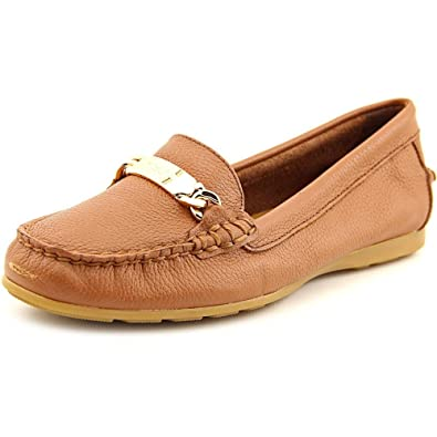 Coach Suede Round-Toe Loafers cheap 2014 newest free shipping shop offer discount choice slhQ71