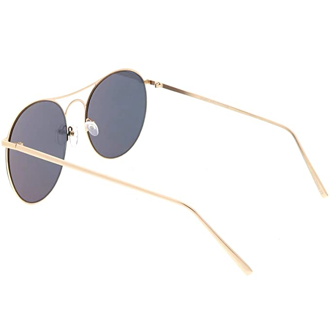Amazon.com: sunglassla – Oversize Metal Aviator anteojos de ...