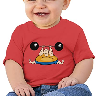 Libra Cartoon Kids Shirt, Cotton Print Shirts Baby Shower Gift Red