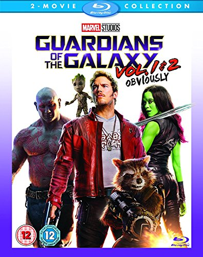 Guardians of the Galaxy Vol. 1-2 [Blu-ray] [Region Free] [UK Import] (Dave Bautista Guardians Of The Galaxy 2)