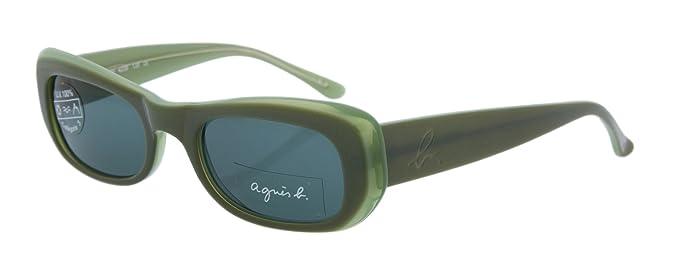 Agnes b Femmes lunettes de soleil vertes VEDI-4239 Wc4dKiYYot