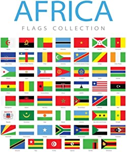Africa Flags Collection Cool Wall Decor Art Print Poster 24x36