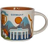 NWT Starbucks MÜNCHEN MUNCHEN MUNICH Germany You Are Here YAH Collector Mug