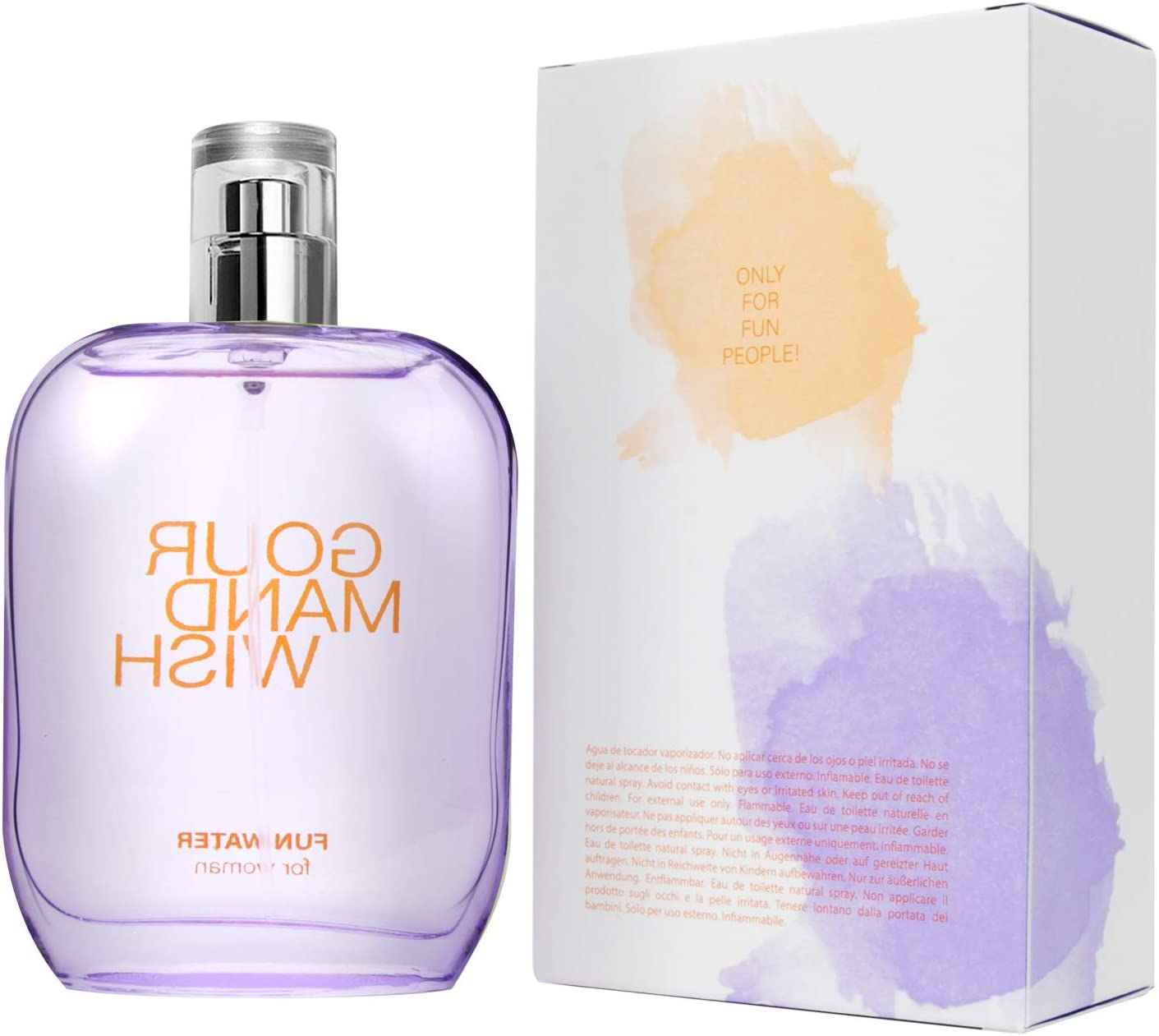 Fun Water Gourmand Wish - Fragancia para mujer (100 ml): Amazon.es: Belleza