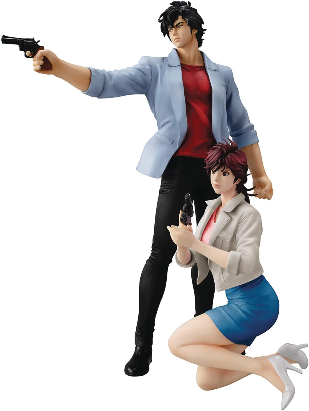 City Hunter Shinjuku Private Eye Saeba Ryo and Makimura Kaori Figure Boxed