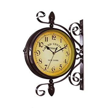 Amazoncom Wrought Iron Vintageinspired Rotatable Double Sided