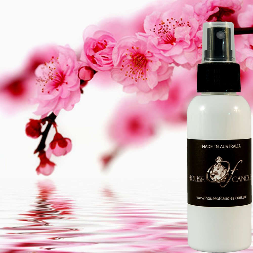 Japanese Musk & Cherry Blossoms Perfume Body Spray Deodorant Mist XSTRONG 50ml/1.7oz VEGAN & CRUELTY FREE House Of Candles