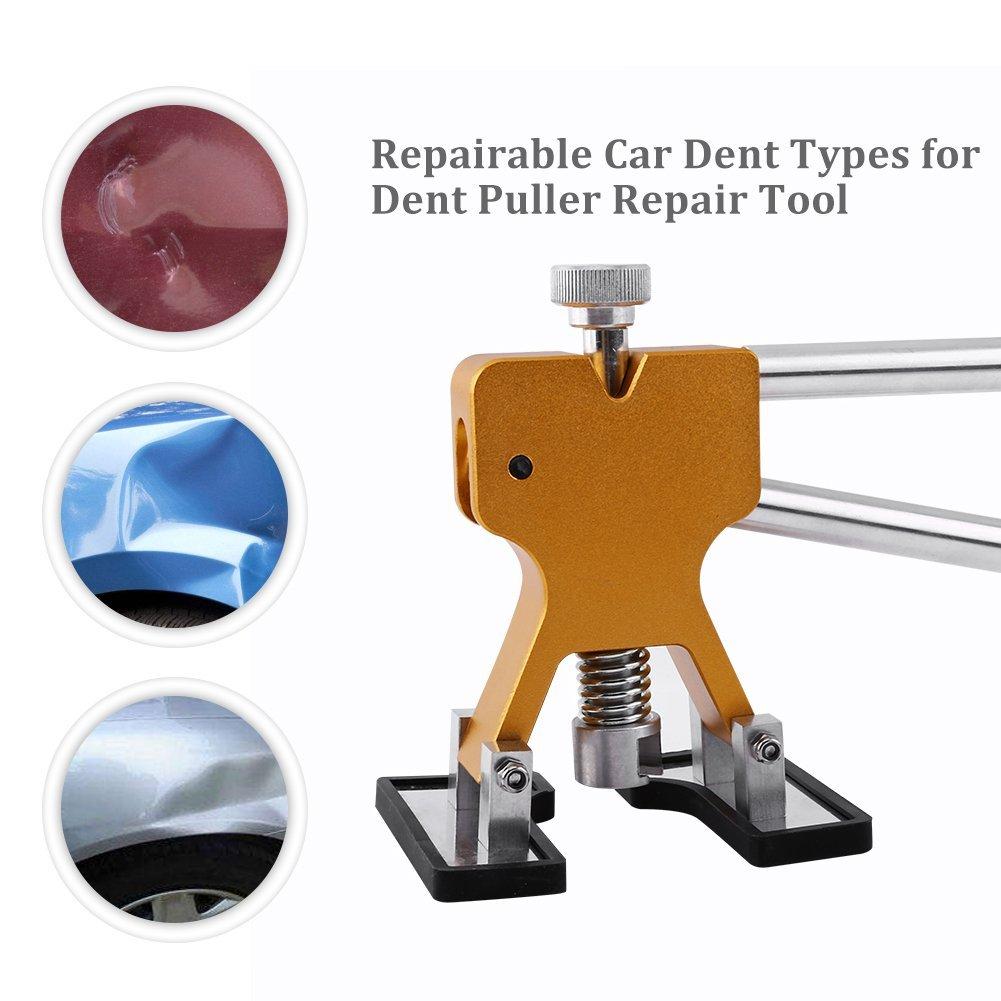 1 Aluminium Dent Lifter Kleber Abzieher /& 18 Taben Set Auto Body Riola Entnahme Repair PDR Werkzeug-Set