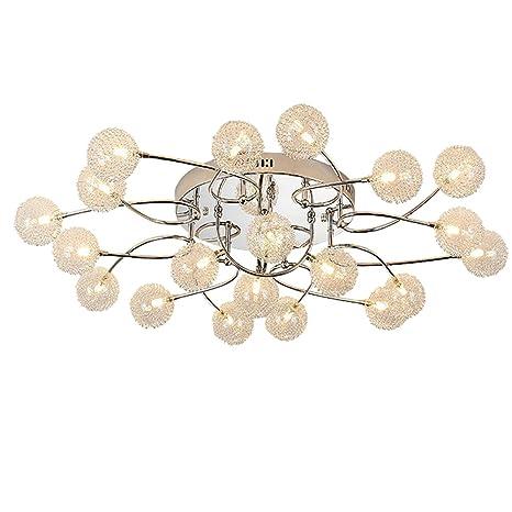 Dormitorio LED luces de techo Creativo bola en forma de ...