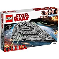 LEGO Star Wars VIII First Order Star Destroyer 75190...